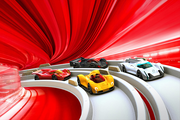 Supercars voor Shell